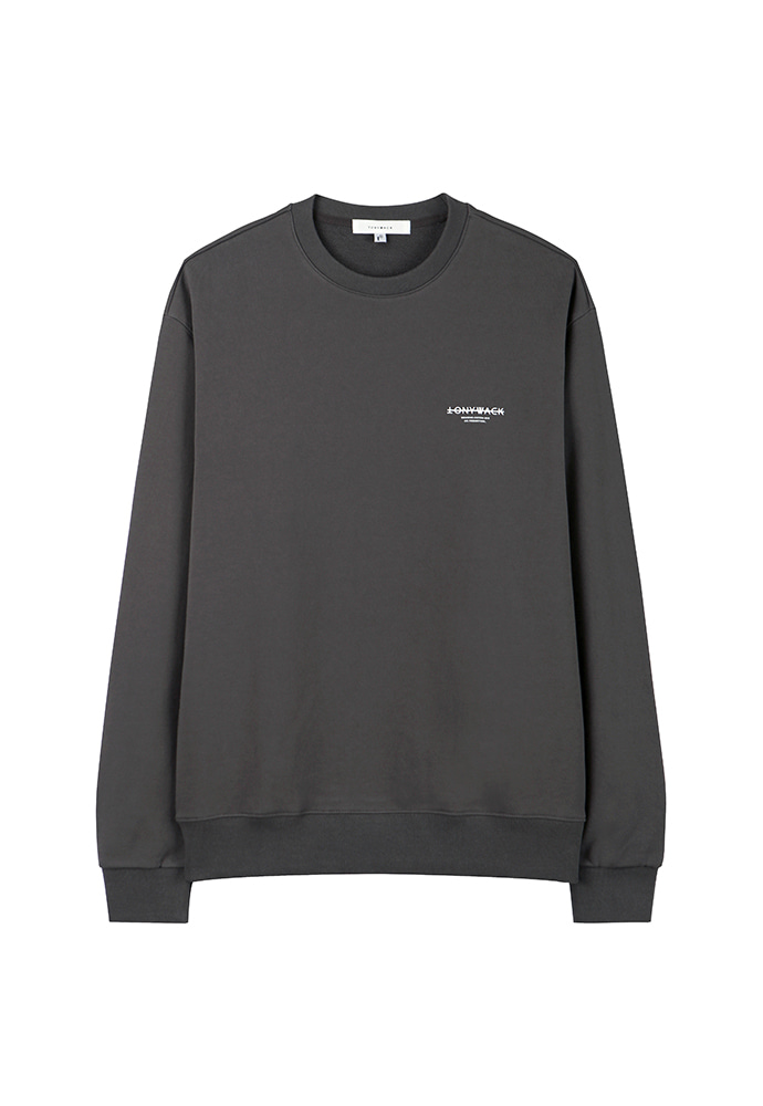Dept. Stiff Sweatshirt_ Charcoal