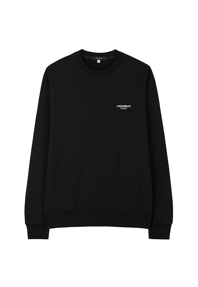Dept. Stiff Sweatshirt_ Black