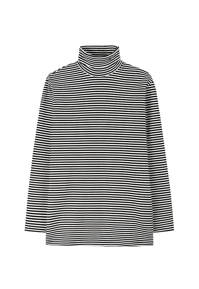 Dept. Jersey Turtle-Neck_ Stripe