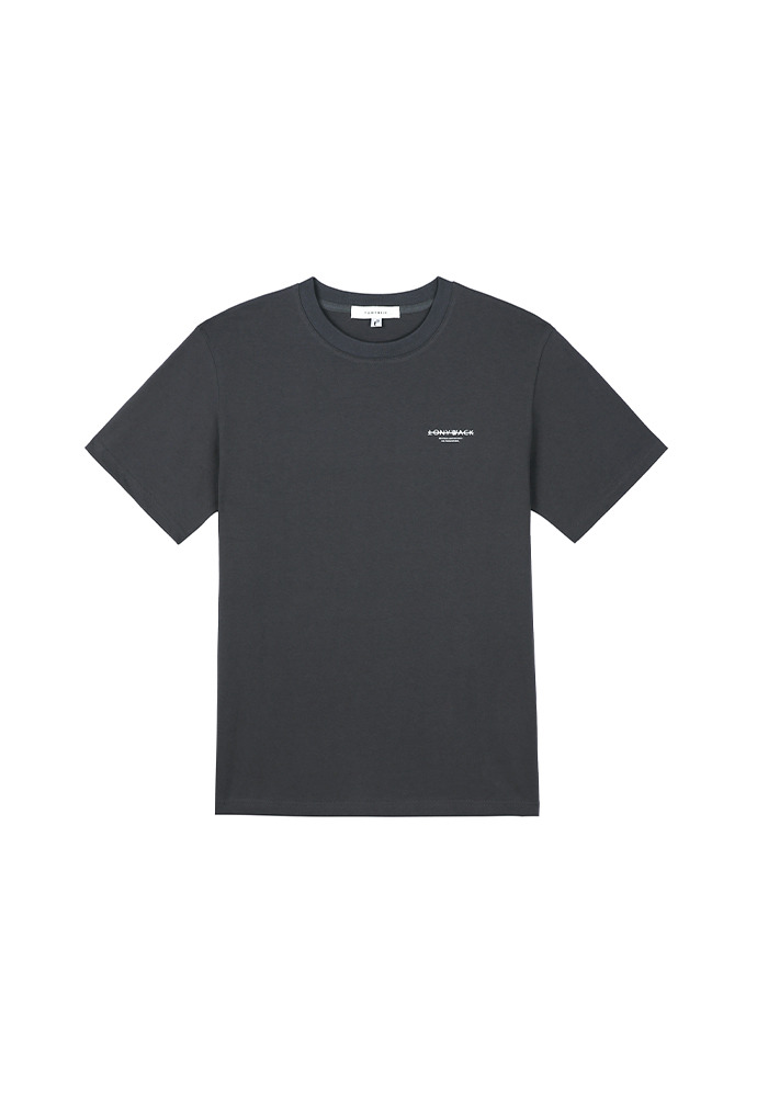 20SS Dept Short-Sleeve T-Shirt_ Charcoal