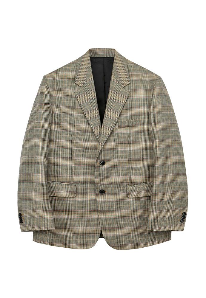 8441ff0f93f TONYWACK - Signature 2-button Single Blazer_ Glen Check - TONYWACK