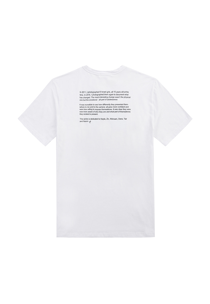 Record T-shirt_ White