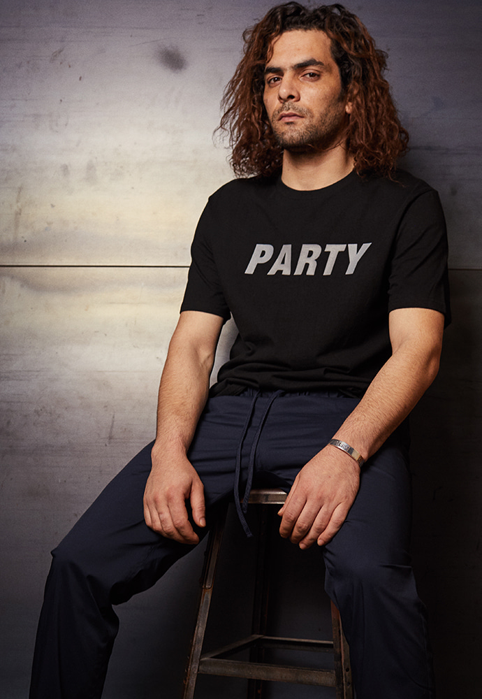 Reflex Party T-shirts _ Black