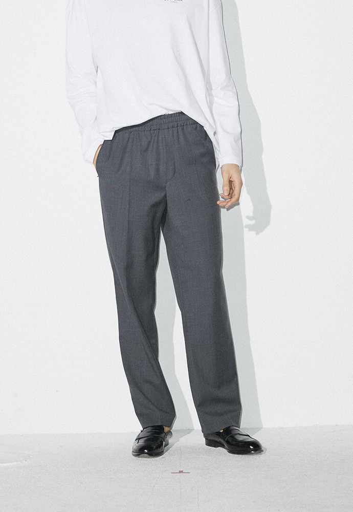 Signature Easy Trousers_ Grey