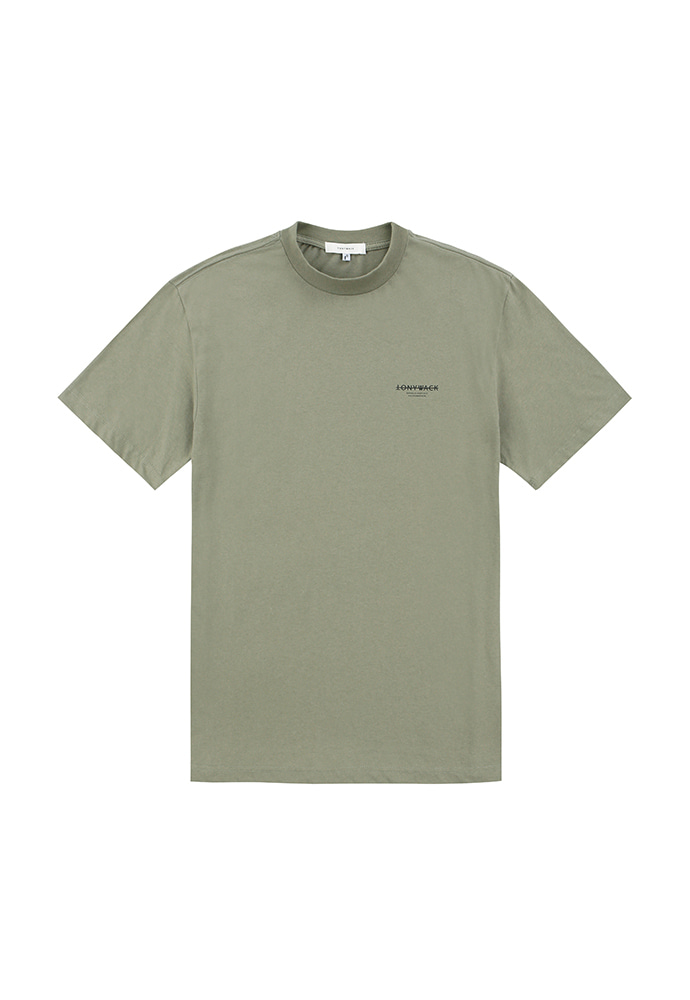 Dept. Mock-Neck T-Shirt_ Olive