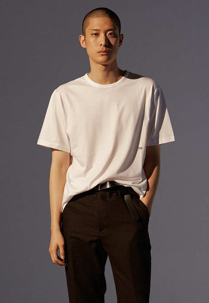 19SS Signature T-Shirt_ White