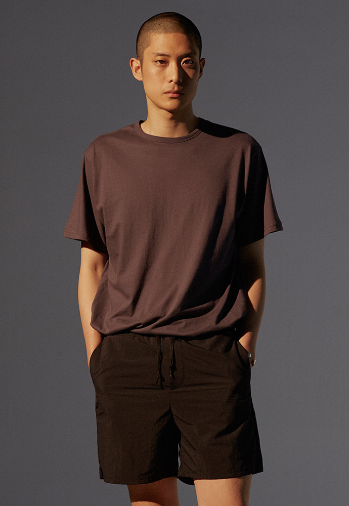 19SS Signature T-Shirt_ Charcoal