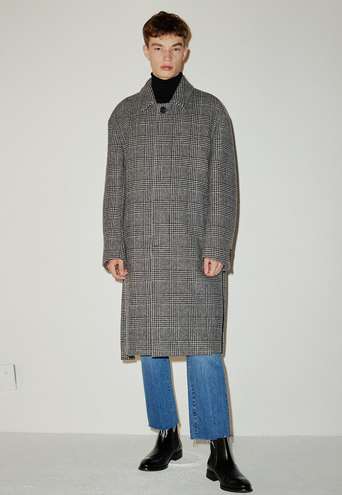 Signature Check Mac Coat_ Houndstooth