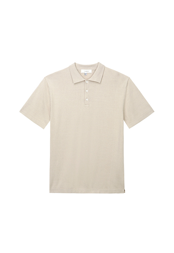 Saint Polo Knit_ Sand