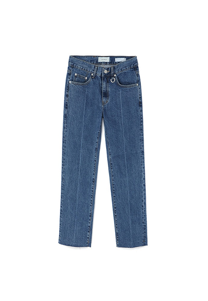 Musk Slim-Straight Jeans_ Mid Blue