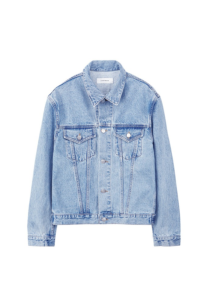 Musk Denim Jacket_ Light Blue