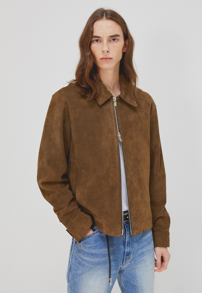 Port Minimal Suede Jacket