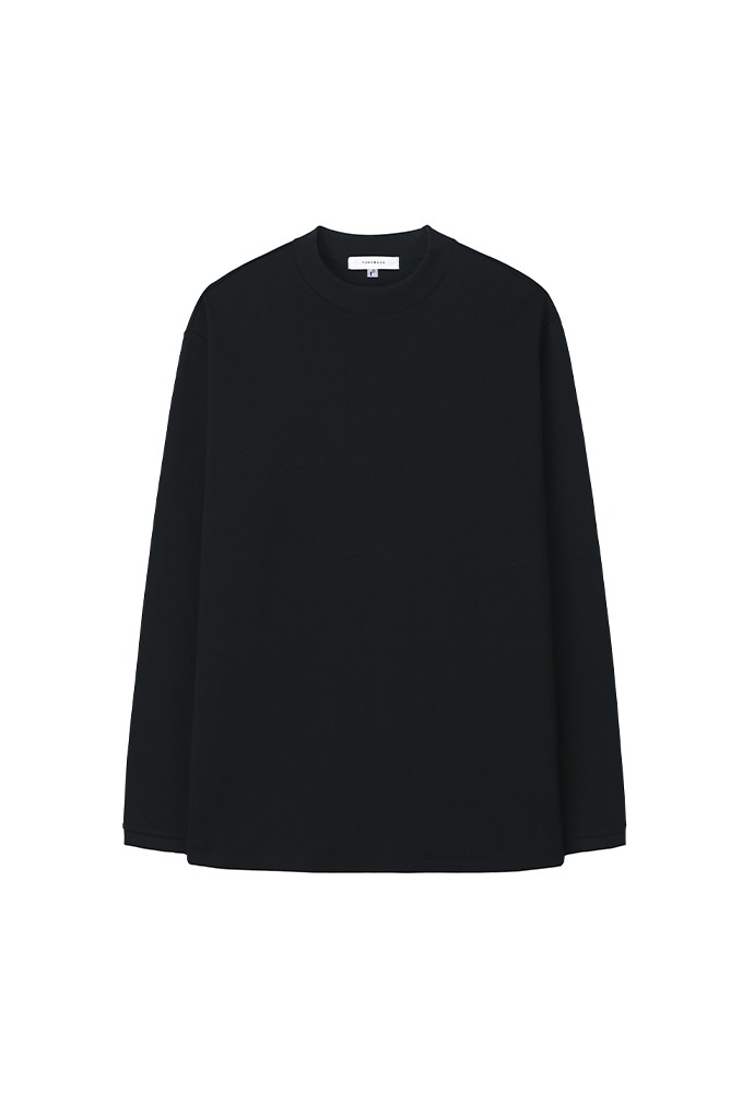 Sortie Mock-Neck Long Sleeve_ Black