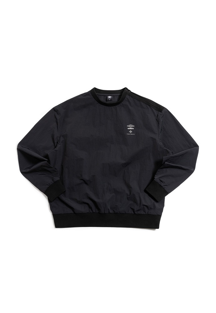 [TONYWACK X UMBRO] Woven Long Sleeve_ Black