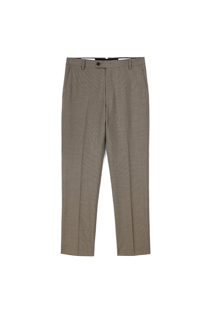 Signature Classic Trousers_ Brown Check