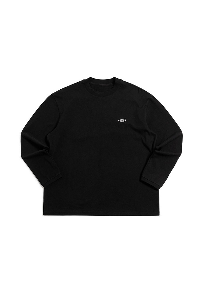 [TONYWACK X UMBRO] Mockneck Long Sleeve_ Black