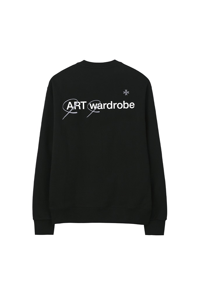 Wardrobe Sweatshirt_ Black (Grey)